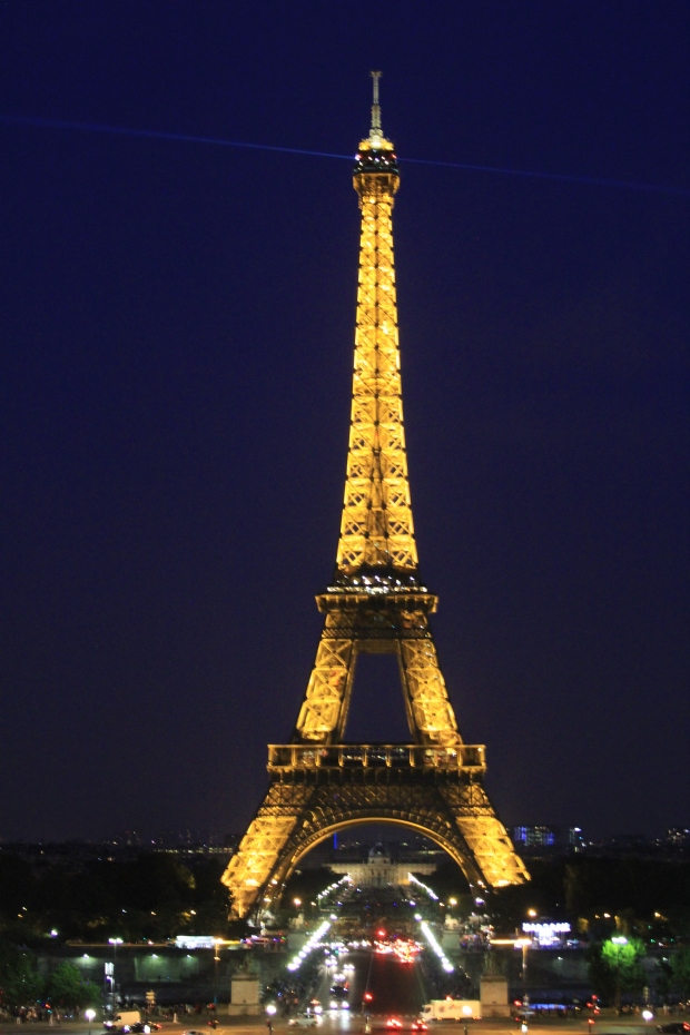 Eiffel Tower At Night - The Wishing Tree Blog