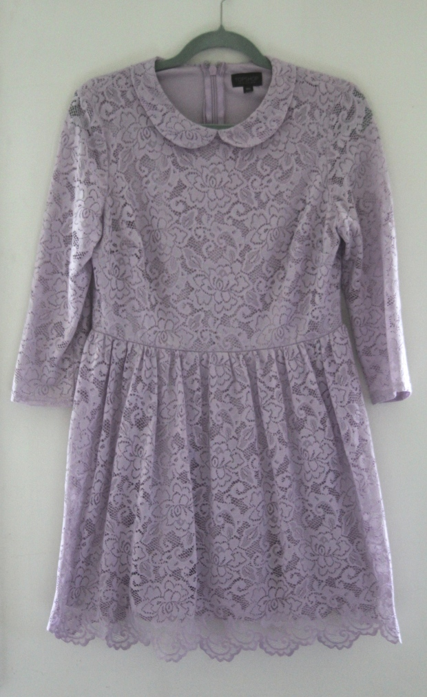 Lilac Lace Topshop Dress - The Wishing Tree