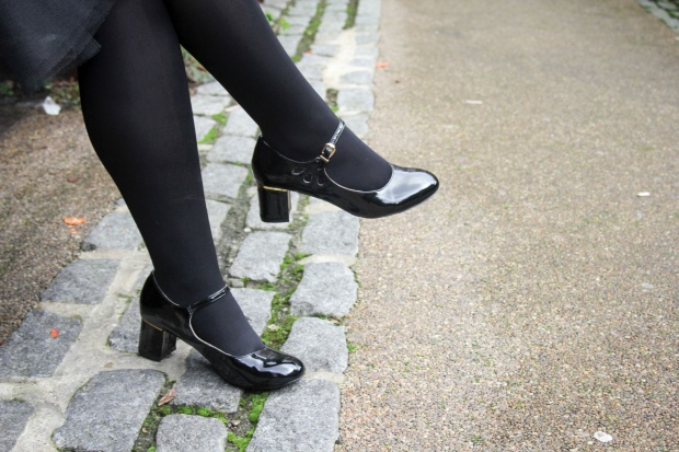 Frocks and Flowers blog - patent heels
