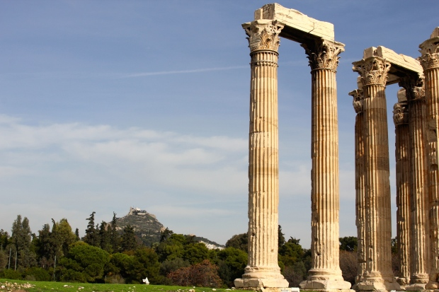 Frocks and Flowers Fashion Blog - Temple of Zeus Athens