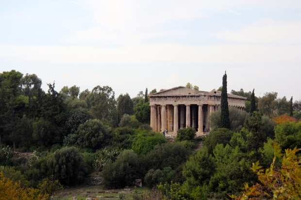Temple of Hephaestus Athens Frocks and Flowers