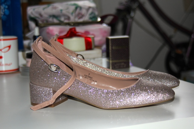 marks and spencer rose gold heels frocks and flowers uk fashion blog