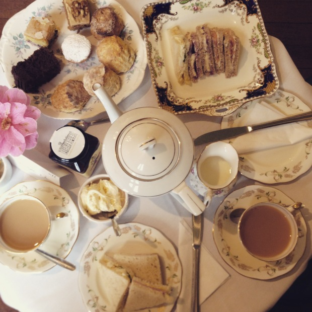 Afternoon Tea Chiddingstone Castle UK Lifestyle Fashion Blog Frocks and Flowers