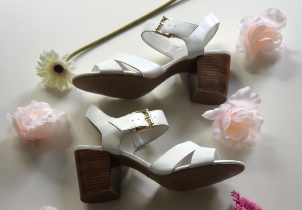 Frocks and Flowers UK Style London Fashion Blog New Look Shoes Sandals Fashion Blogger