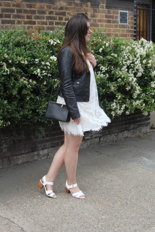 Frocks and Flowers UK Fashion Lifestyle Blog Leather Lace