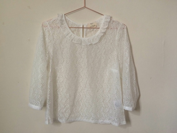 Frocks and Flowers UK Lifestyle Blog Summer Haul Urban Outfitters Lace Blouse