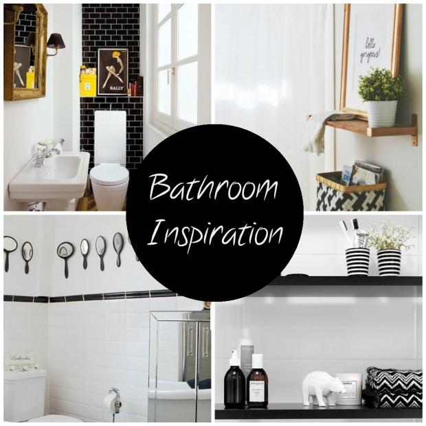 Frocks and Flowers UK Lifestyle Blog Monochrome Bathroom Inspiration DIY 60s Paris