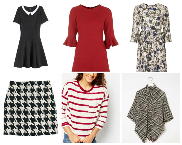 Frocks and Flowers UK Fashion and Lifestyle Blog AW15 September 2015 Payday Wishlist Topshop H&M ASOS