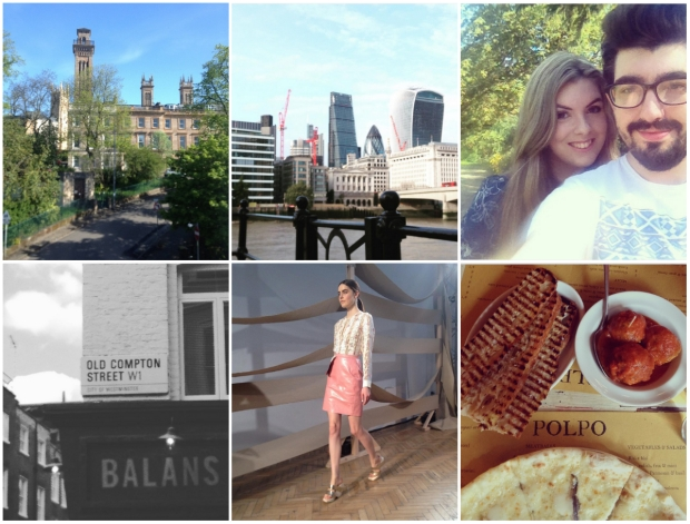 Frocks and Flowers UK Lifestyle Blog Life Lately Update Instagram Collage