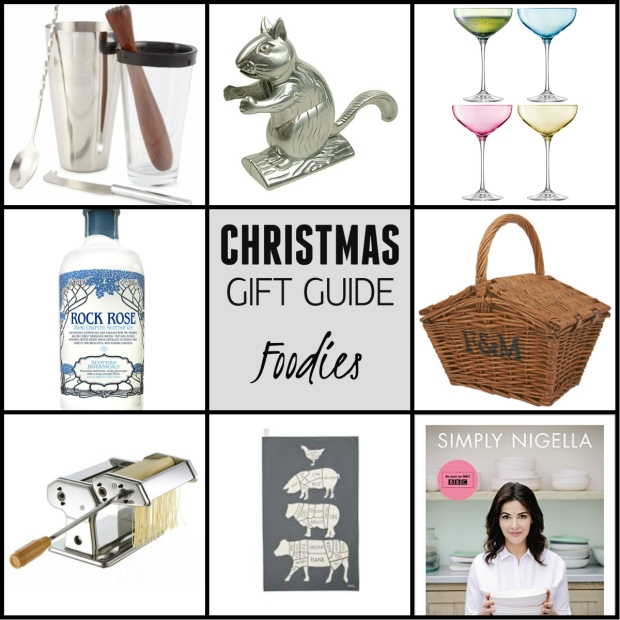 Frocks & Flowers UK Lifestyle Blog Christmas Gift Guide 2015 UK Food gifts foodies