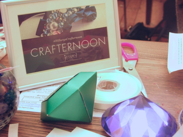Frocks and Flowers UK Lifestyle Blog London Hillarys Crafternoon Crafting Make Your Own Jewellery Box Jewel The Edit Collection Drink Shop Do