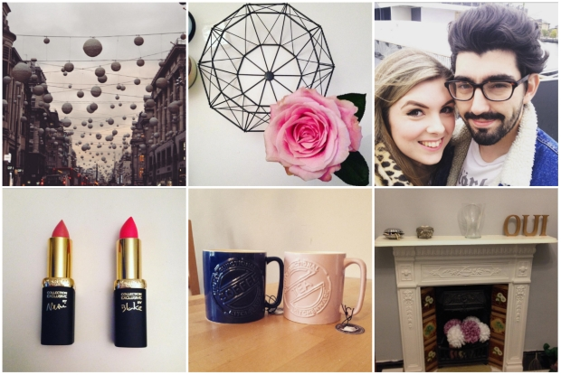 Frocks and Flowers UK Lifestyle Blog Life Lately Collage Makeup London