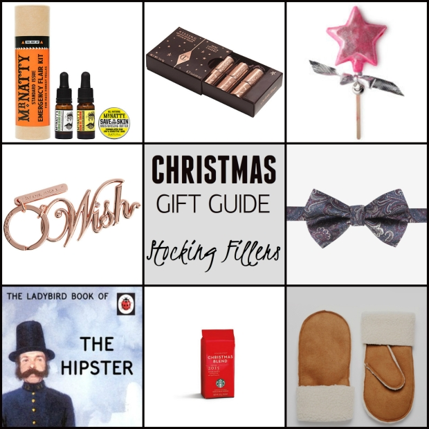 Frocks & Flowers UK Lifestyle Blog Christmas Gift Guide 2015 UK  stocking fillers gift ideas