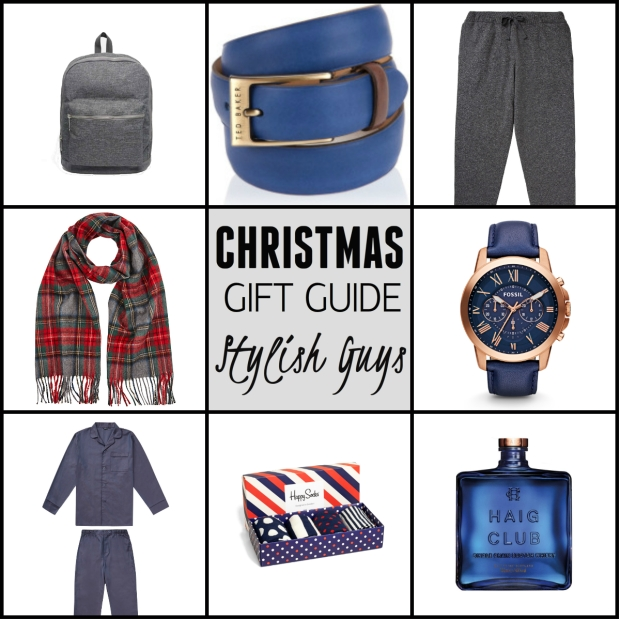 Frocks & Flowers UK Lifestyle Blog Christmas Gift Guide 2015 UK Stylish Guys mEN'S Gifts preseent ideas for men for him