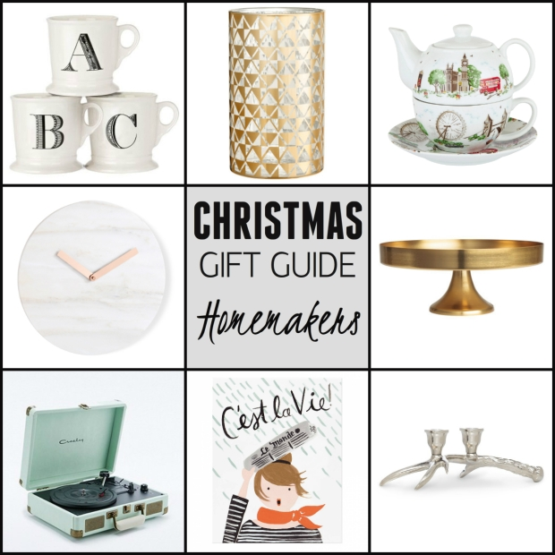 Frocks & Flowers UK Lifestyle Blog Christmas Gift Guide 2015 UK Home Gifts interiors
