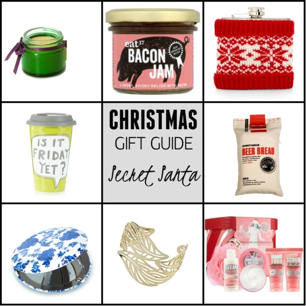 Frocks & Flowers UK Lifestyle Blog Christmas Gift Guide 2015 UK Secret Santa Gift Ideas gifts under £10 gifts under £20