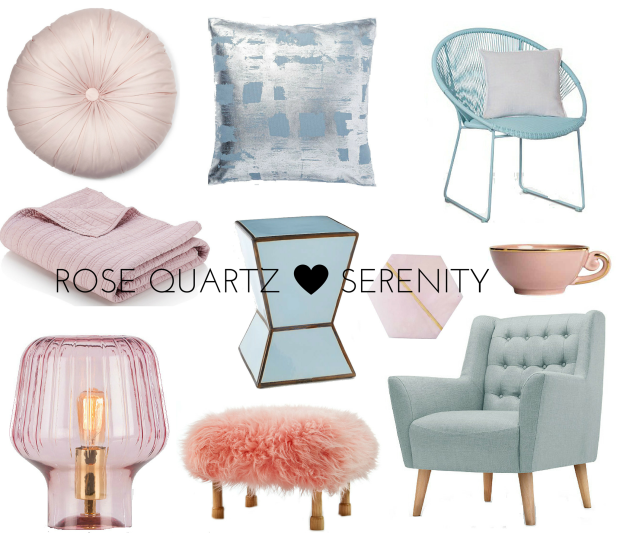 frocks and flowers frocks & flowers uk lifestyle blog interior inspiration interiors design rose quartz and serenity pantone 2016 colours of the year