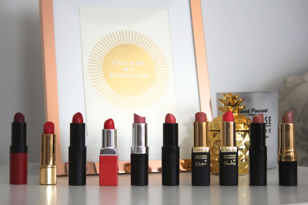 frocks and flowers frocks & flowers uk lifestyle blog best palettes favourite lipsticks lipstick collection