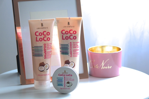 frocks and flowers frocks & flowers uk lifestyle blog lee stafford coco loco collection review haircare review